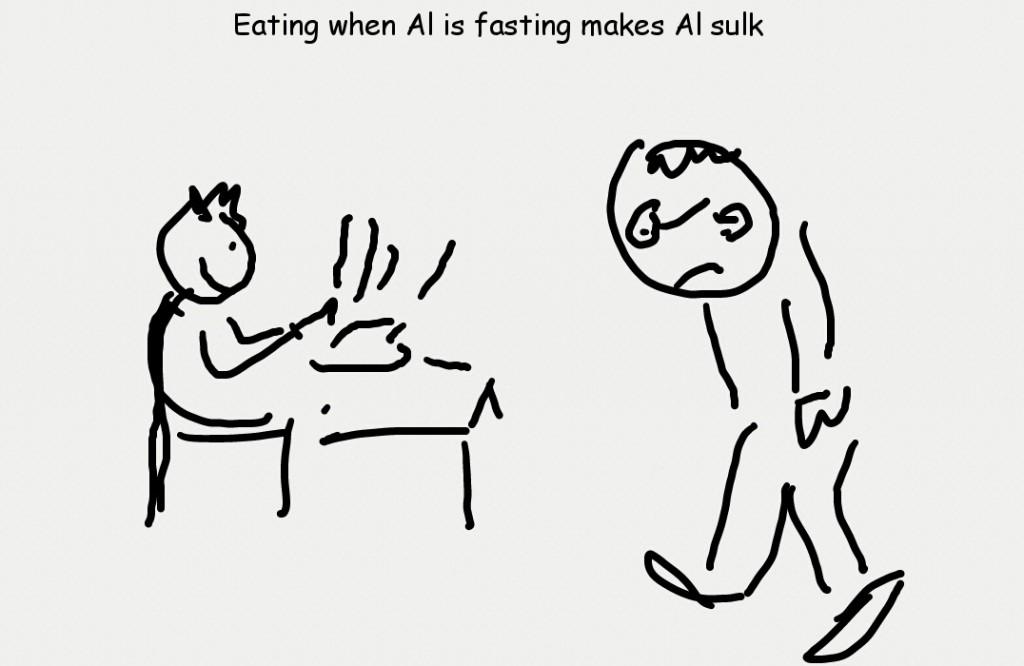 Al is Fasting