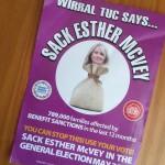 Sack Esther McVey